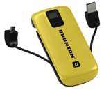 Brunton Metal 4400-yellow Battery Pack