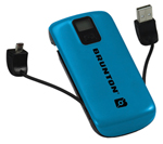 Brunton Metal 4400-blue Battery Pack